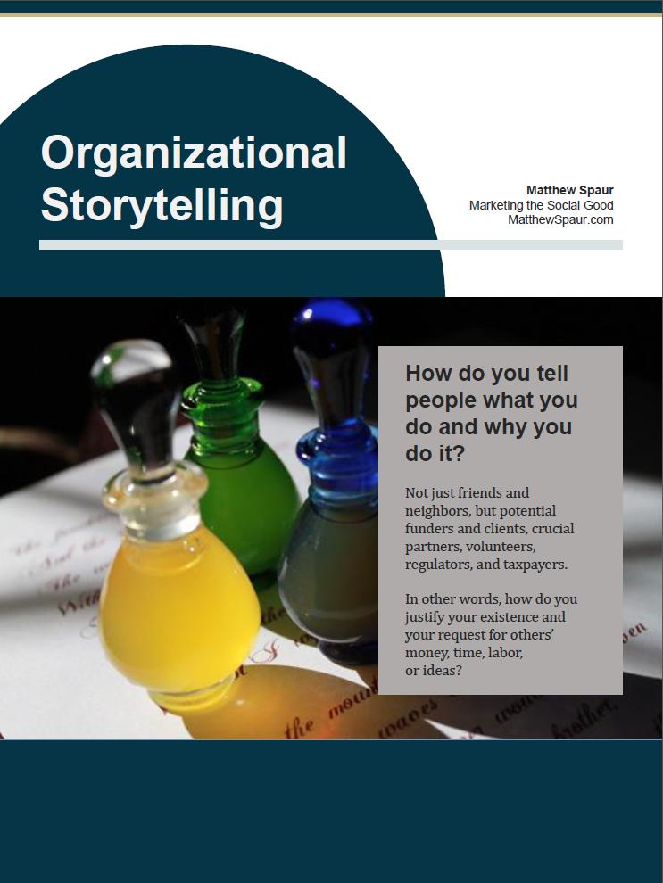 Organizational Storytelling Ebook cover
