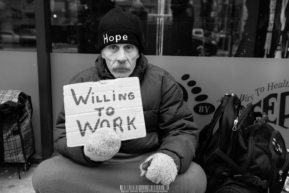 Homeless Paul