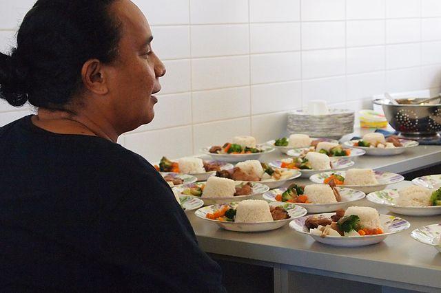Brazil school lunch