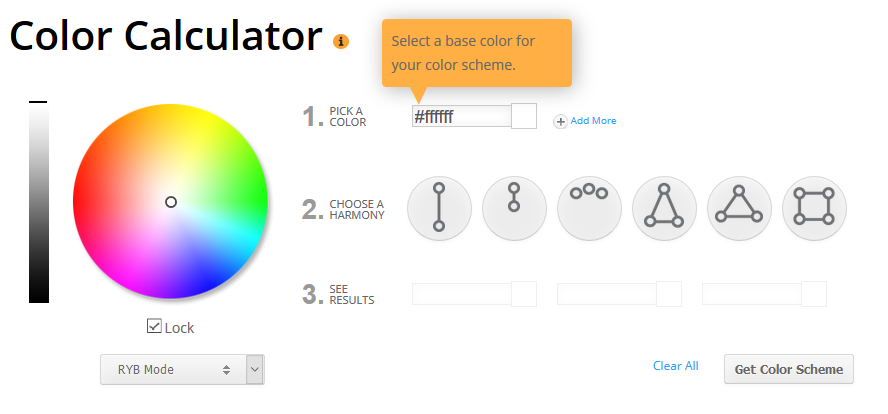 create perfect color palettes