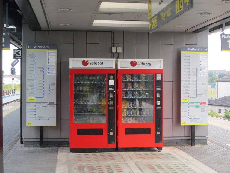 deliver help to homeless people through vending machines