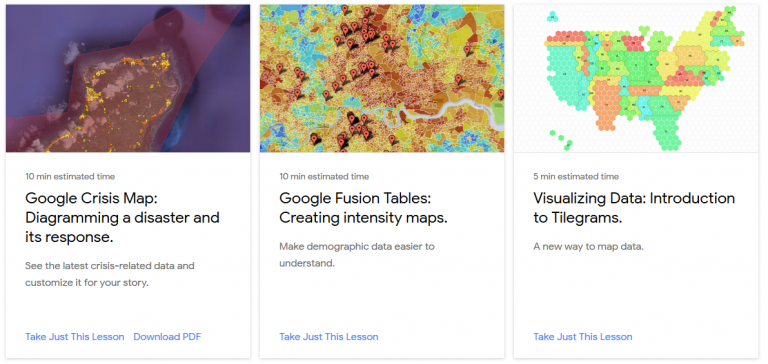 Google has free courses on telling stories with data.